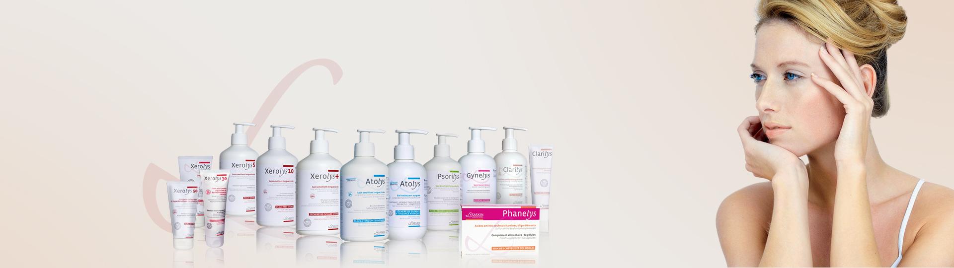 Une gamme de produits dermo-cosmétiques